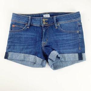 Hudson Jeans Womens Ruby Cuffed Jean Shorts